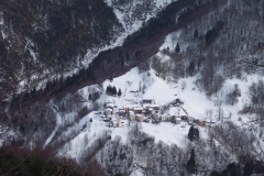 Veduta dall'alto di Coritis (Marco Pascutti)