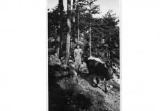 Assunta Longhino - Ritorno dal pascolo dal monte Planjia 1950 (Archivio Comunale)