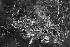 Foto storica truppe tedesche (Marco Pascoli)