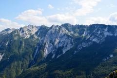 Catena dei Musi vista dal Monte Cuzzer (Christian Madotto)