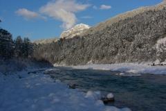 Torrente Resia in inverno (Luciano Micelli)