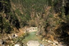 Passaggio torrente Resia