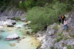 Camminata lungo il torrente (Marco Di Lenardo)