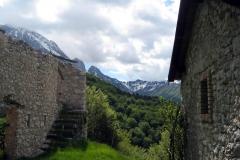 Scorcio panoramico lungo il sentiero (Marco Di Lenardo)