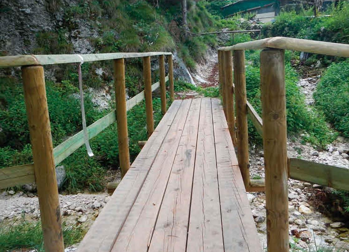 Itinerario San Giorgio - Ruschis